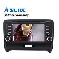 "AUDI TT MK2 7"" DVD GPS Navigation sat nav RDS Radio Stereo Bluetooth AM/FM radio"