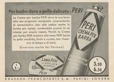 Z1054 Lama e Crema per Barba PERI - Pubblicità d'epoca - 1934 Old advertising