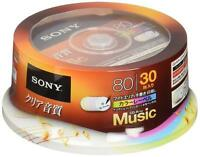 X30 SONY JAPAN Blank Music Audio CDR CD-R Discs 48x Color label 30CRM80HPXP