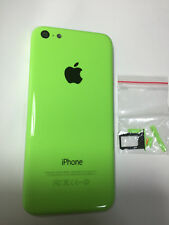 ORIGINAL iPHONE 5C BACK REAR COVER GLASS DOOR HOUSING REPLACEMENT Green A1532