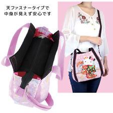 dae5b466b6 Hello Kitty mini Tote Travel Bag Lucky Cat H19W33W7cm