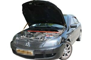 Fit Mitsubishi Lancer 9 2003- Bonnet Strut Gas Lift Hood Damper Kit x2 Supports