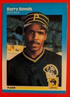 Barry Bonds 1987 Fleer #604