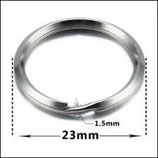 16mm split//key rings//holders sprung steel joint rings brass or stainless