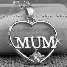 BLACK FRIDAY Deals Silver Mum Necklace Mother Women Xmas Gifts for Her Sale Mom