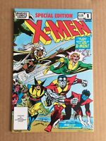 X-Men Special Edition #1 Marvel Comics ~ 1982 Bronze Age