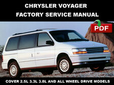 CHRYSLER VOYAGER 1991 1992 1993 1994 1995 SERVICE REPAIR WORKSHOP MANUAL