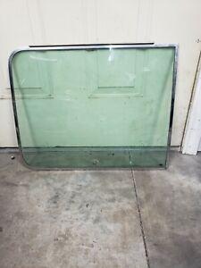 Chevy g10 g20 boogie hippie van slider door side pop out window with latch oem