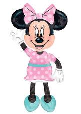 Grandi rosa Minnie Mouse Airwalker Palloncino Stagnola Elio