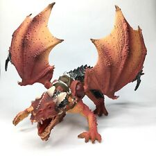 Schleich large red Armored Dragon knight fantasy series Moveable wings!