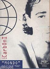 LUCA CARBONI - Mondo - LIBRO SPARTITO 1995 USATO BUONE CONDIZIONI