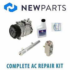 Mercedes C230 04-05 Complete AC A/C Repair Kit with NEW Compressor & Clutch