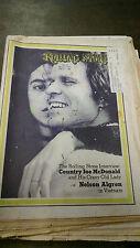 Rolling Stone #83 May 27 1971 Country Joe McDonald Nelson Algren MBX98