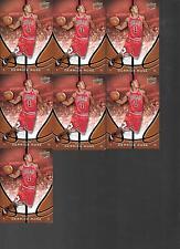 Lot of 7, 2008 -  2009 Upper Deck Derrick Rose Rookie Card RC #DR