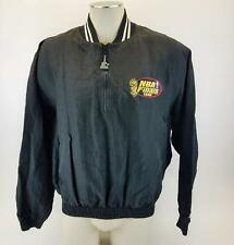 Vintage Starter Quarter Zip Pullover Jacket 1996 NBA Finals Michael Jordan Large