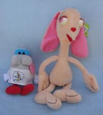 Vintage Ren & Stimpy Plush Dolls