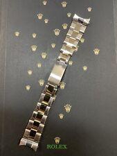 VINTAGE ♛ ROLEX ♛ 1971 19MM OYSTER RIVET 2-TONE 7205 / 57 BRACELET 100% GENUINE!