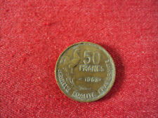 PIECE DE 50 FRANCS  Guiraud COQ  .ANNEE 1953