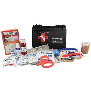 Dive 1st First Aid Kit Advanced Scuba Diving Hard Case FAK435