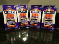 (4) Two-Packs Elmers Glue Sticks Washable Disappearing Purple School Glue Sticks