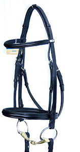 STUBBEN 2300 Leitrim COMFORT PADDED MONOCROWN French Cavesson NOSEBAND Bridle