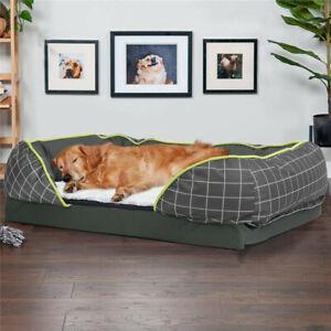 Oversized Orthopedic Memory Foam Anti-bite Dog Bed Jumbo Pet Mattress Bed Snuggl