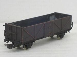Hochbordwagen / Hochbordwaggon, schwarzbraun bemalt, Piko, 1:87 / HO, ohne OVP