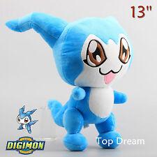 "Digimon Adventure TRI Chibimon DemiVeemon Soft Plush Doll Toy Figure 12.5"" Anime"