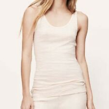 NWT ANN TAYLOR THE LOFT Women Size M Sleeveless Striped Tank Top Shirt