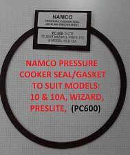Namco Pressure Cooker Seal/Gasket T/S WIZARD, PRESLITE, MODELS 10 & 10A (PC600)