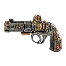 Steampunk Decorative Replica Gun Costume Accessory Wasteland Gears Cogs Adult