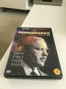 The Pawnbroker DVD Sidney Lumet Movie 1964 Rod Steiger - BLACK AND WHITE