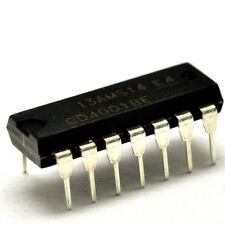 5pcs V4001D = CD4001BE QUAD 2-INPUT NOR GATE