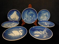 BING & GRONDAHL MORS MOTHER'S DAY COLLECTOR PLATES LOT OF 7 1970 TO 1976   LL 44
