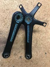 Campagnolo Veloce UT Alloy 10 Speed Crankset / Cranks 5 Bolt 172.5mm Black eb16