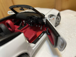 EBBRO 1/24 Honda S2000 White Car red Interior VTECH Premium Collection #973 JDM