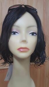 "Malky Wig Sheitel European Multidirectional Human Hair Wig #2 13"" Wavy S"