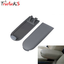New GRAY Leather Center Console Latch Armrest Cover for VW GOLF JETTA MK4 98-04