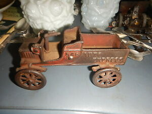 Kenton Auto Express 546 cast iron old toy truck missing driver