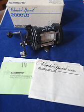 GOOD BOXED SHIMANO CHARTER SPECIAL 2000LD MULTIPLIER SEA REEL