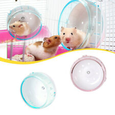 Hamster Mouse Rat Exercise Plastic Silent Running Spinner Wheel Pet Toy