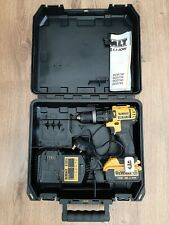 DEWALT  DCD785 18V XR Li ion 2 SPEED HAMMER COMBI DRILL SET WITH CARRY CASE USED