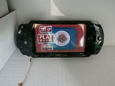 sony psp 1001 black 3 games 3 movies wall charger new battery