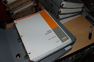 CUSTODIA cx330 Crawler Excavator TrackHoe Spare Parts Manual book catalog 2002