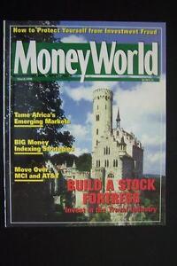 Money World Magazine March 1998