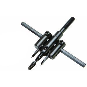 Adjustable Circle Hole Cutter Wood Drywall Plastic Woodworking Twist Hole Tools