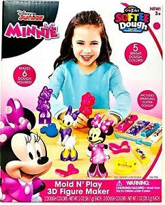 Cra-Z-Art Softee Dough Disney Junior Minnie Mouse Mold N Play 3D Figure Maker