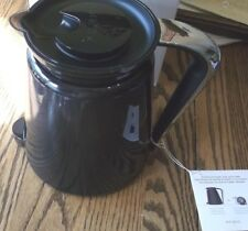 Keurig 2.0 Carafe Coffee Maker Replacement Pot Black With Chrome Handle New