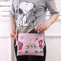 Women PU Leather Cartoon Shoulder Bag Handbag Purse Messenger Crossbody Tote