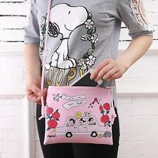 Women PU Leather Cartoon Shoulder Bag Handbag Purse Messenger Crossbody Tote